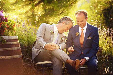 Terre di Nano Samesex wedding  | James and Greg