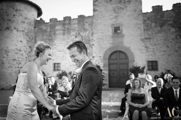 Donna e Scott, Intimate wedding in Tuscany