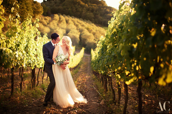 Danielle and Adam, intimate elopement in Tuscany
