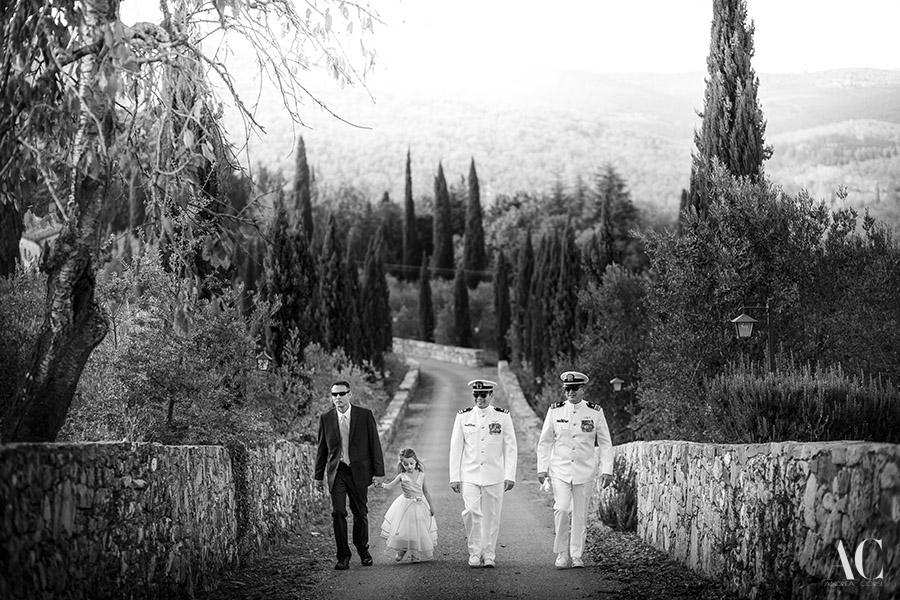 Wedding Photographer Gaiole in Chianti (Siena). Intimate wedding in Tuscany, Castello di Meleto: Alissa & Sthepen get married. Andrea Corsi italian destination wedding photographer.