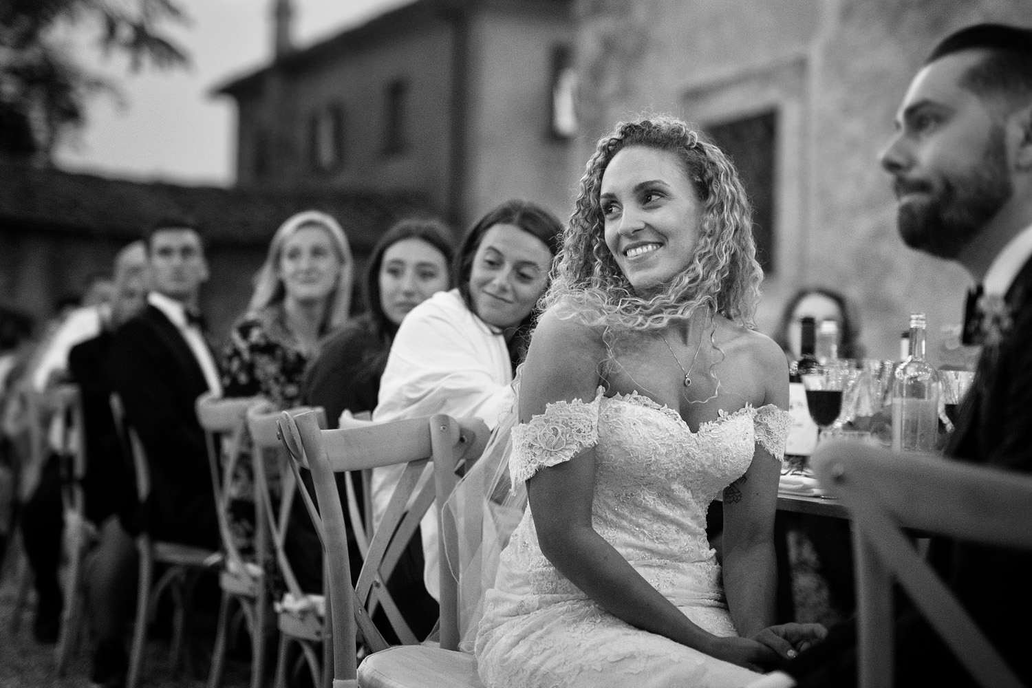 Beautiful bride portait. Villa di Ulignano