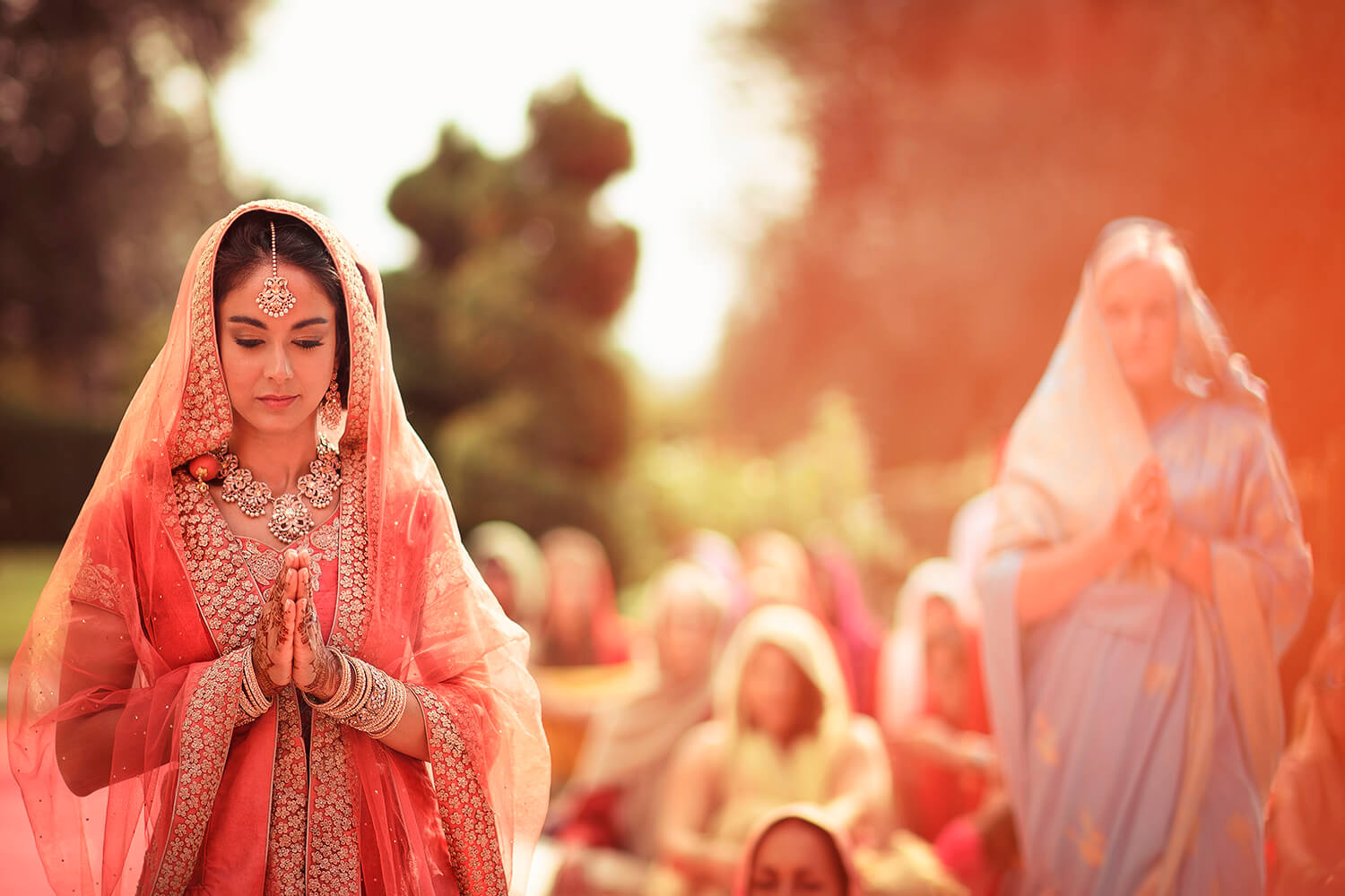 indian wedding in Villa Castelletti