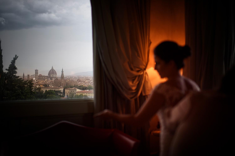 Florence view. Villa la Vedetta