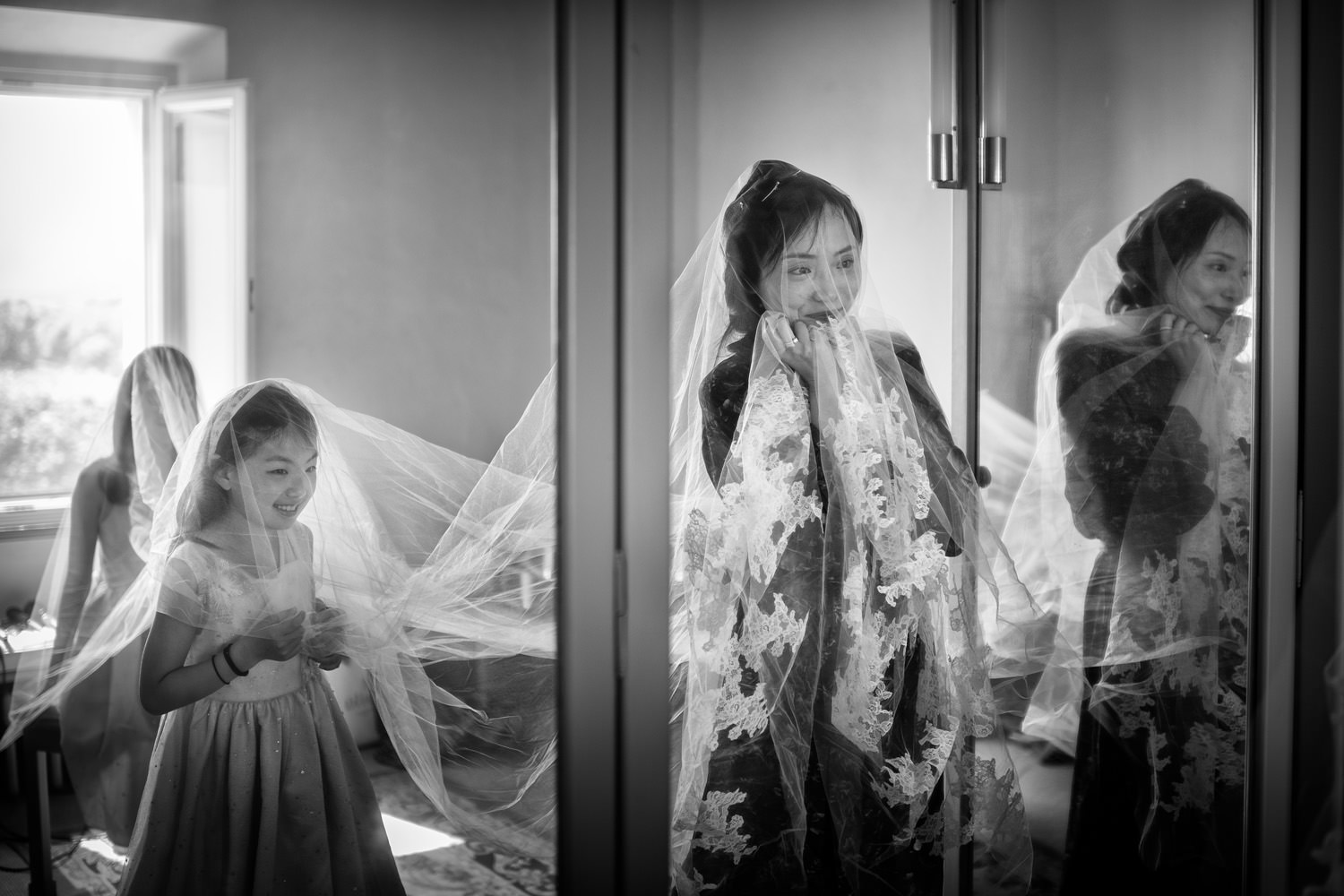China wedding at Villa la Foce, Pienza