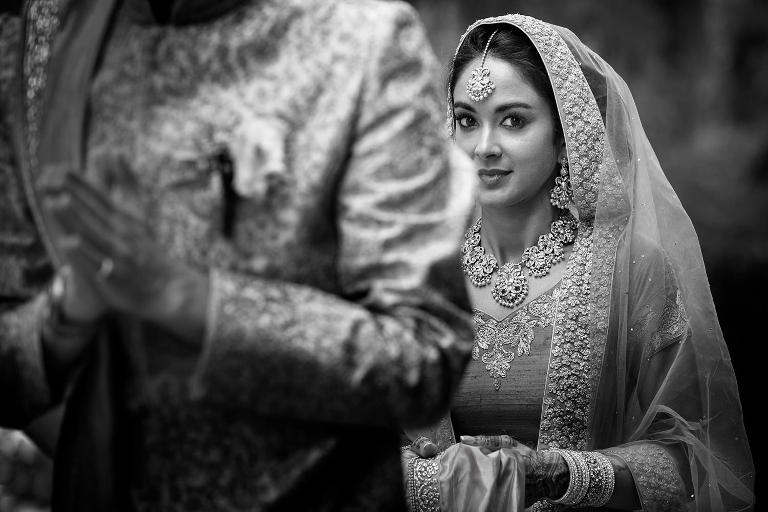 Indian bride. wedding in Villa Castelletti