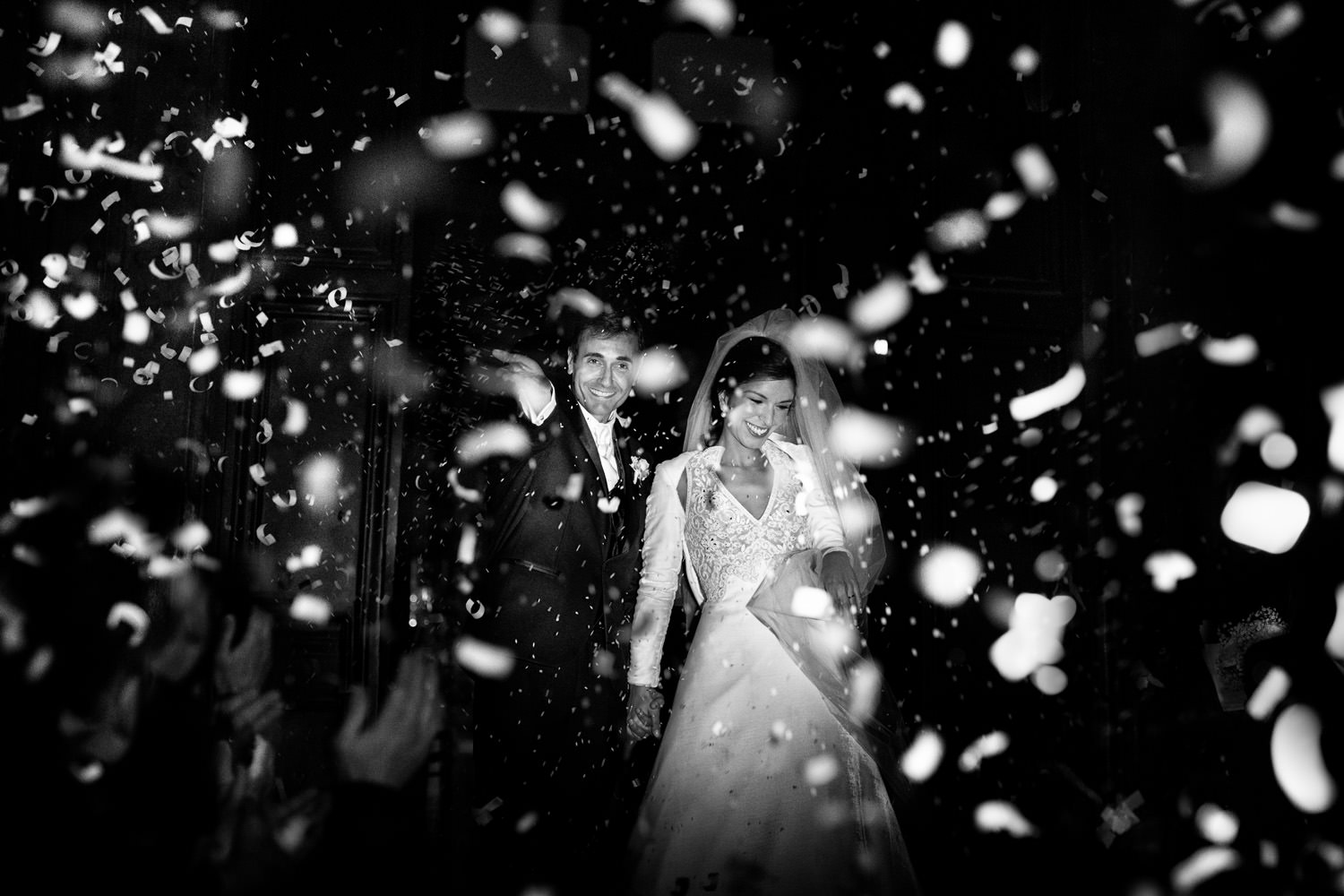 rise and petal. Wedding moment