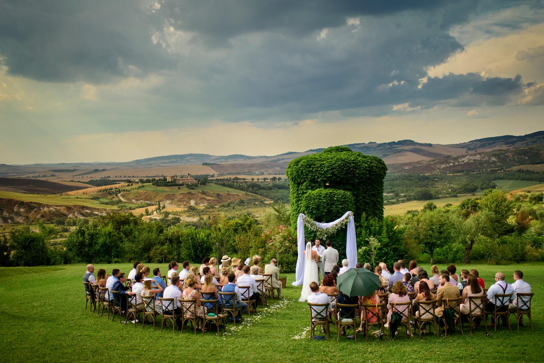 Borgo di Castelvecchio ceremony.