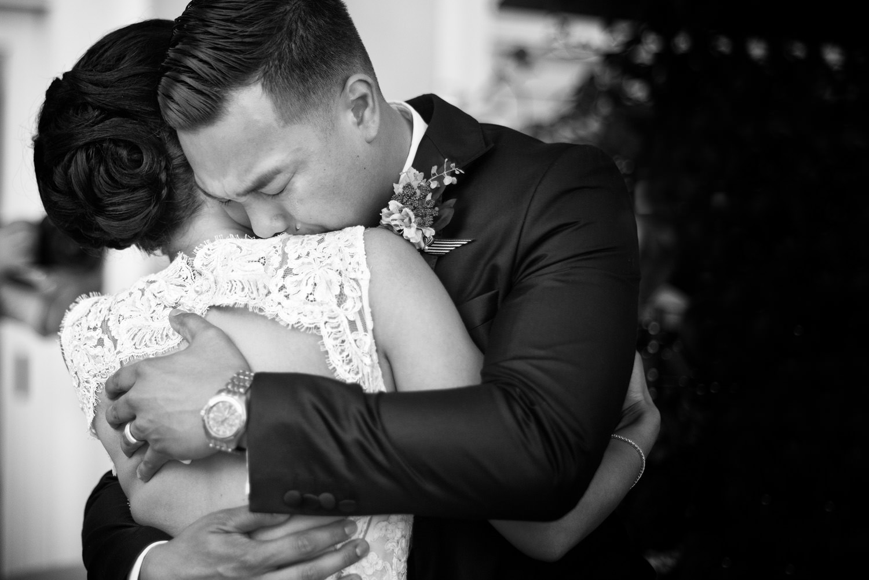 emotional wedding moment in positano, Hotel Marincanto