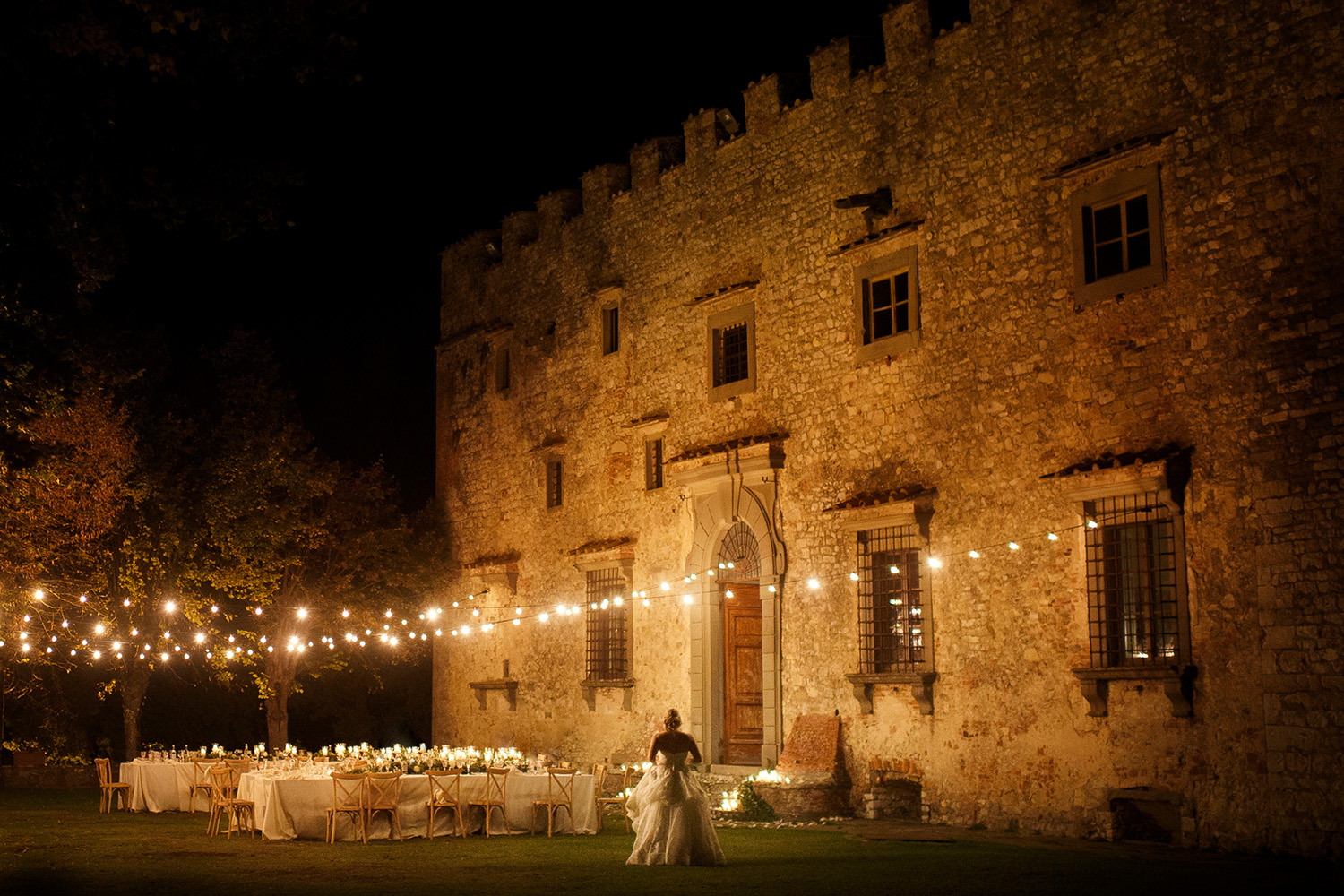 Castello di Meleto wedding Photographer