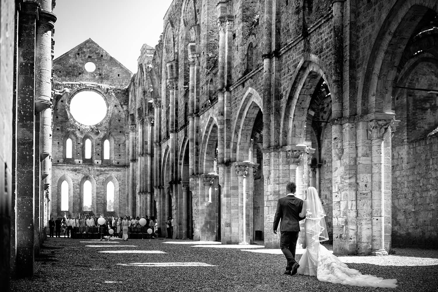 San Galgano Abbey, Wedding ceremony