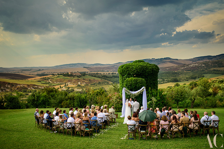 Cwedding Ceremony in Tuscany