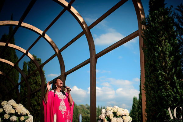 Tara and Andres ,  wedding in Villa Vignamaggio, Tuscany