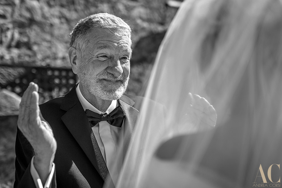 Intimate wedding in Lucca, Tuscany. Andrea Corsi italian wedding photographer.
