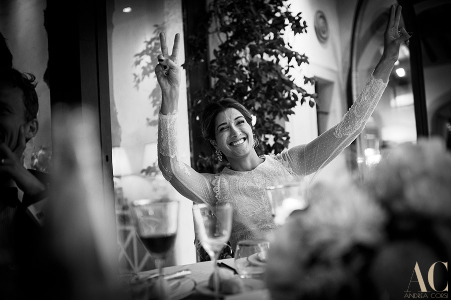 Bride in Tuscany