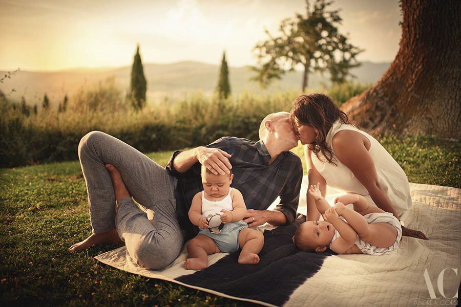 Family and kids session castello di meleto