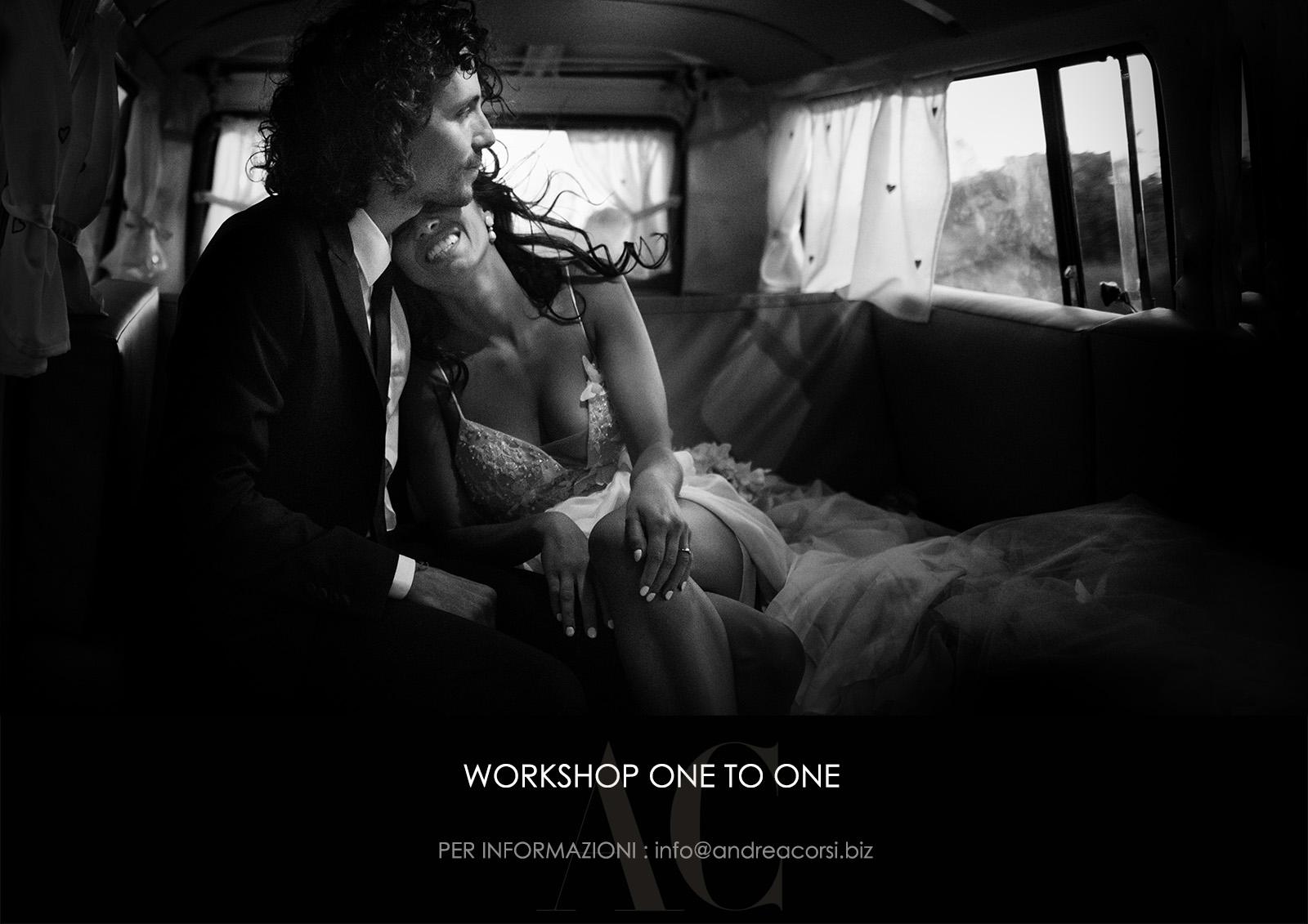 Copertina Workshop di fotografia personalizzati. Andrea Corsi