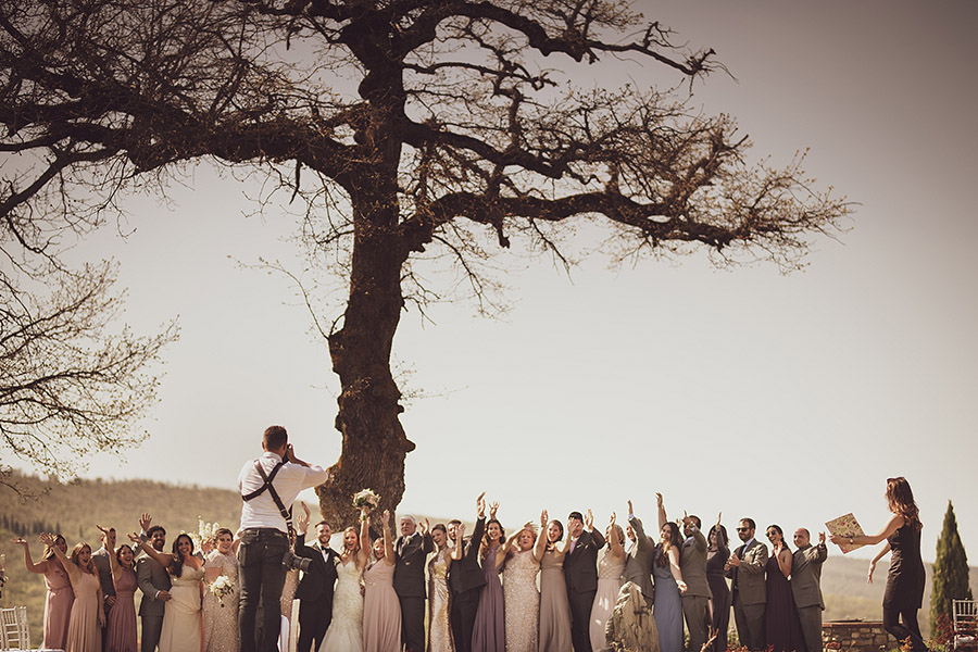 Meleto Castle wedding. Andrea Corsi photographer