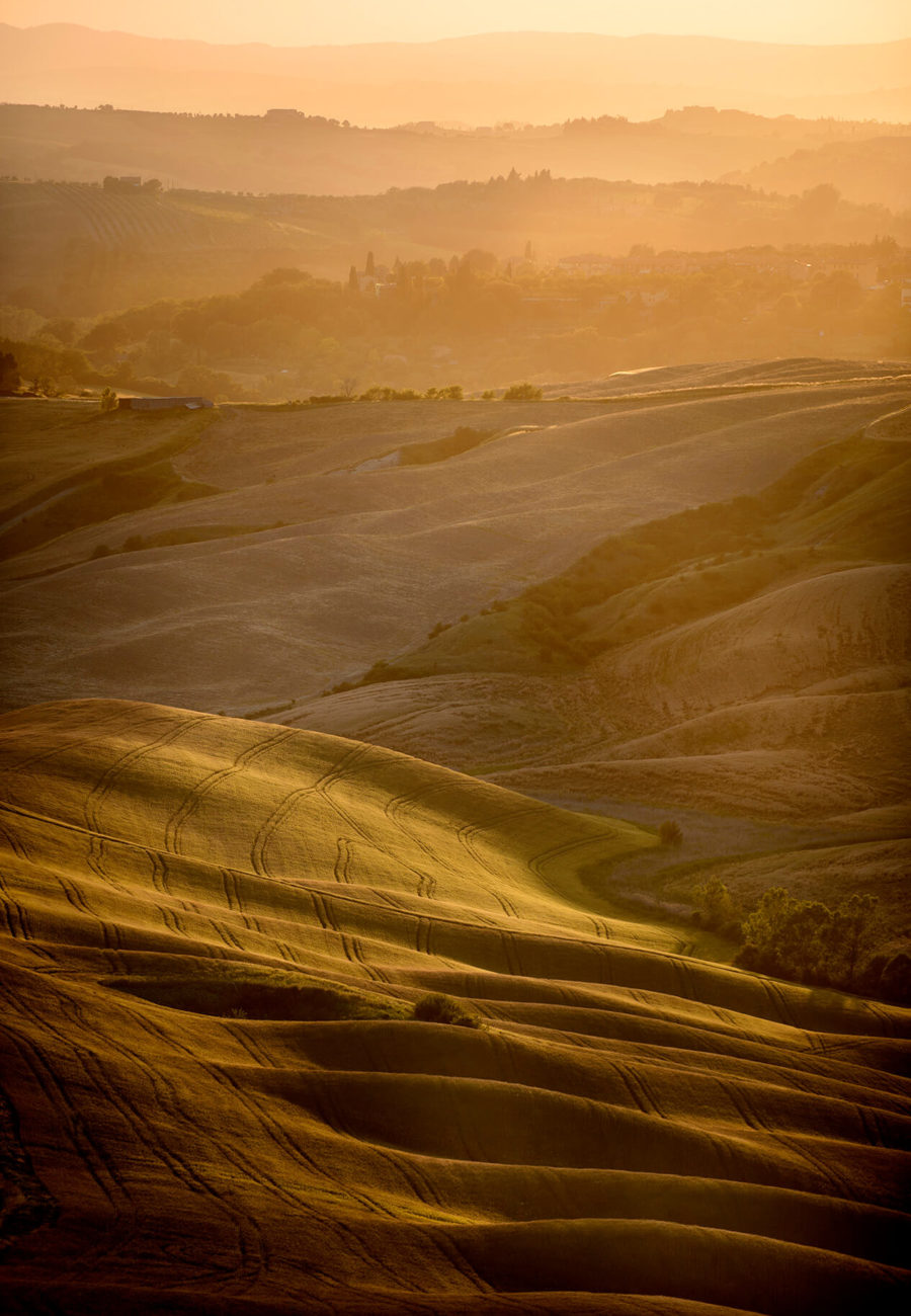 Tuscany Countryside, Sunset